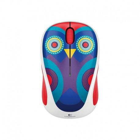 Мишка Logitech Wireless mouse m238 Play Collection owl