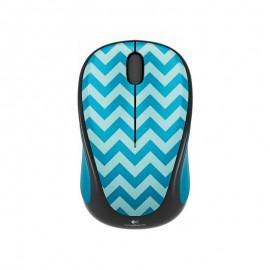 Мишка Logitech Wireless mouse M238 Play Collection - Teal Chevron