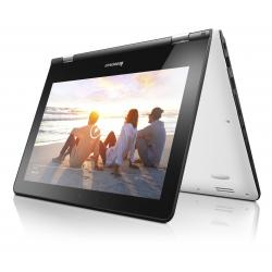 Lenovo Yoga 300 11.6 HD IPS Touch N3060 up to 2.48GHz, 4GB, 32GB SSD, HDMI, WiFi, BT, Black, Win 10