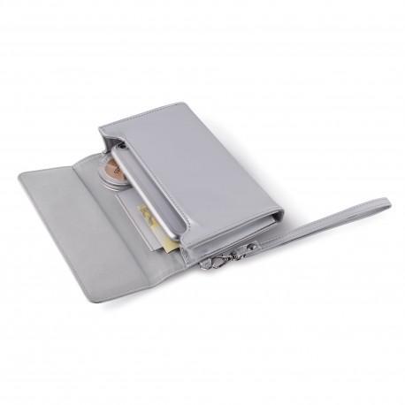 Комплект PURO METAL DUO за iPhone 6S и 6, Сребрист - 4