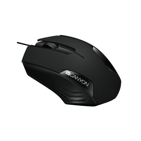 Кабелна оптична мишка Canyon CNE - CMS02B - 3