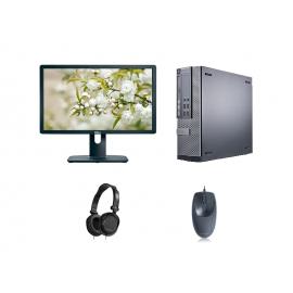 Комбо пакет 3: Компютър, монитор, мишка и слушалки