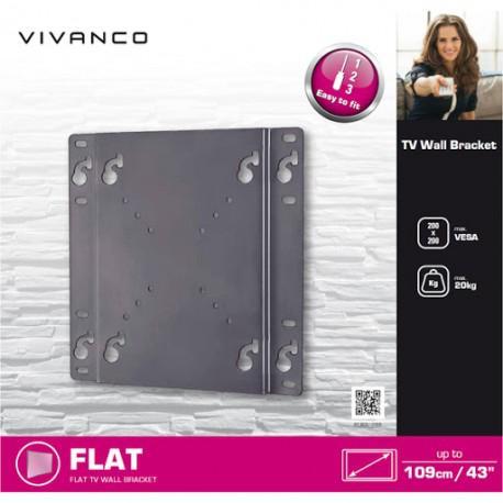 Wall stand for TV Vivanco 37970 up to 43
