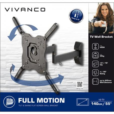 Moving wall stand for TV Vivanco 37980 up to 55