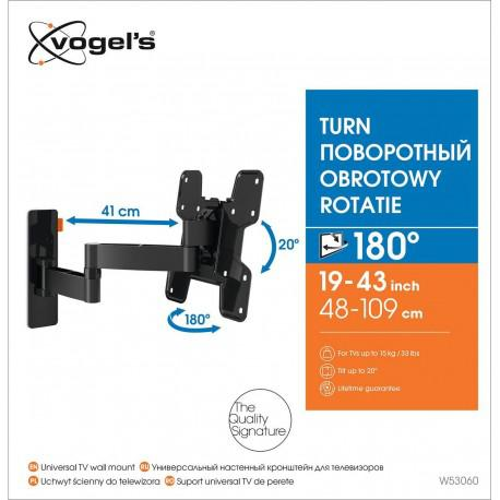 Moving wall stand for TV Vogel`s W53060 up to 37