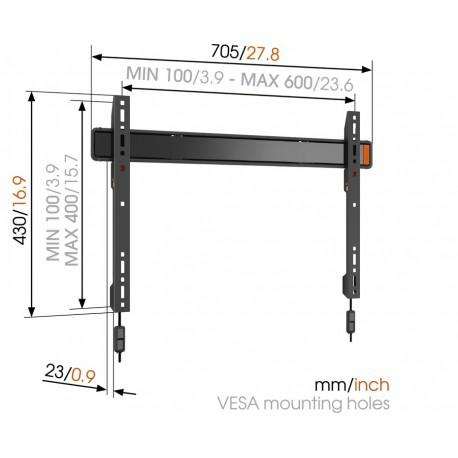 Wall stand for TV Vogel's W50080 up to 80