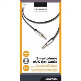 Cable Vivanco 35486, 3.5mm, AUX, 0.5m