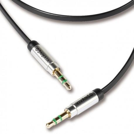 Cable Vivanco 35486, 3.5mm, AUX, 0.5m - 2