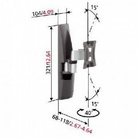 Moving wall stand for TV Vogel`s EFW6125 up to 26
