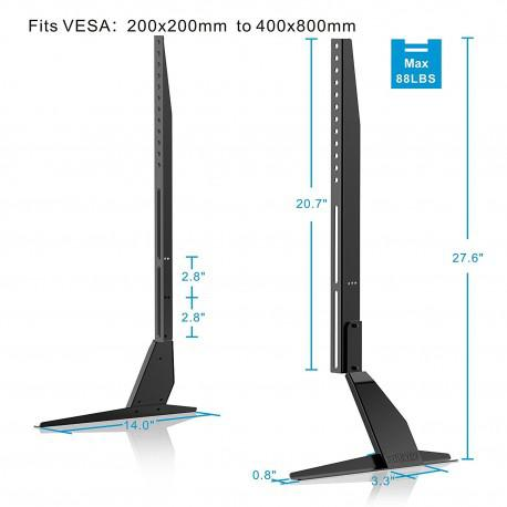 Universal stand for TV FITUEYES TT06801MB up to 60