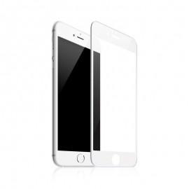 Протектор за екран ROFI от закалено стъкло с бяла рамка за Apple iPhone 7 Plus