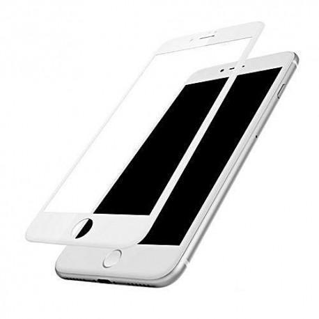 Протектор за екран ROFI от закалено стъкло с бяла рамка за Apple iPhone 7 Plus - 2