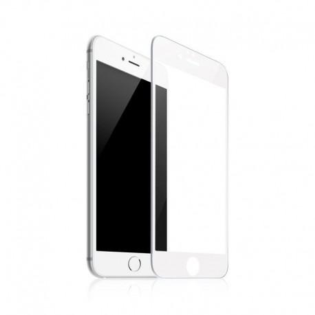 Tempered glass ROFI from tempered glass with white frame for Apple iPhone 8 Plus - 2