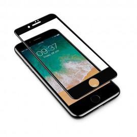 Протектор за екран ROFI от закалено стъкло с черна рамка за Apple iPhone 8
