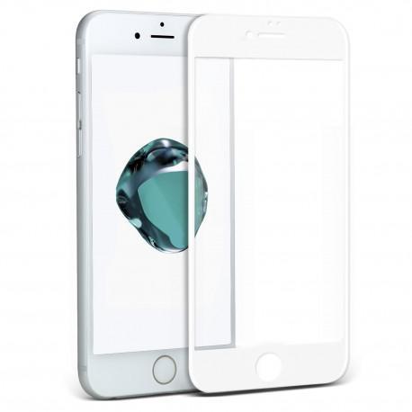 Протектор за екран ROFI от закалено стъкло с бяла рамка за Apple iPhone 6