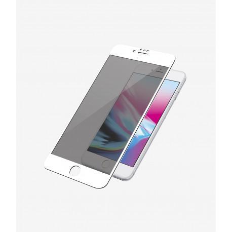 Протектор за екран ROFI от закалено стъкло с бяла рамка за Apple iPhone 6 - 2