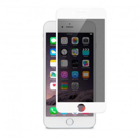 Протектор за екран ROFI от закалено стъкло с бяла рамка за Apple iPhone 6S