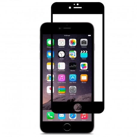 Протектор за екран ROFI от закалено стъкло с черна рамка за Apple iPhone 6S