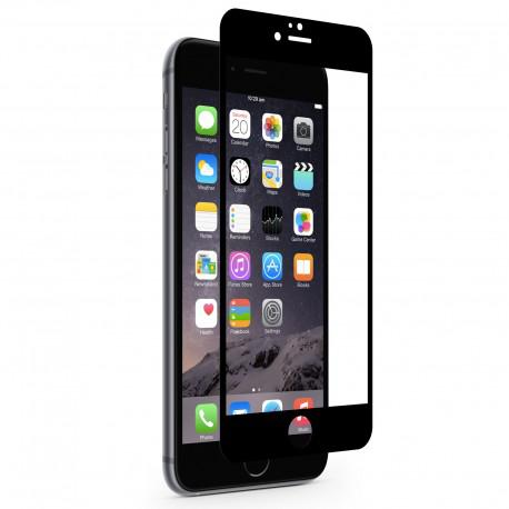 Screen protector ROFI from tempered glass with black frame for Apple iPhone 6 - 3