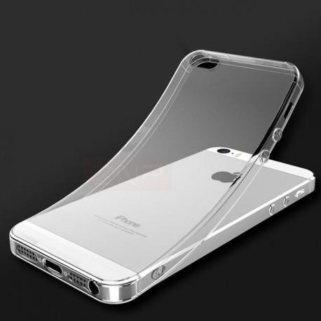Silicone case for IPhone 5/5S transparent - 2