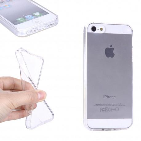 Silicone case for IPhone SE transparent