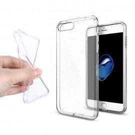 Silicone case for IPhone 7 Plus transparent