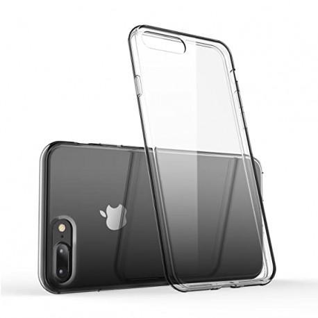 Silicone case for IPhone 8 Plus transparent
