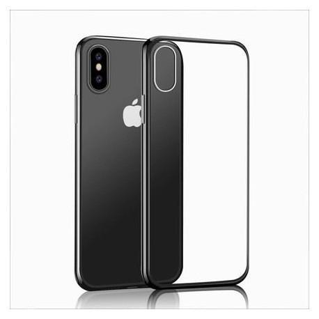 Силиконов гръб за IPhone XS прозрачен - 4