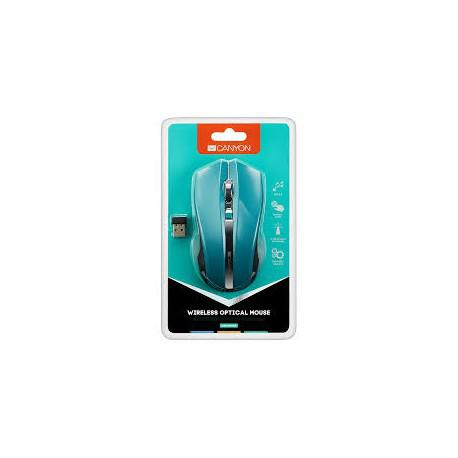 Canyon Wireless mouse CNЕ-CMSW05G Green - 3