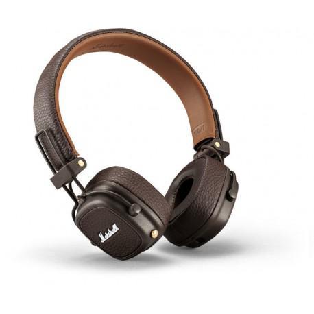 Безжични слушалки Marshall Major III Bluetooth Brown