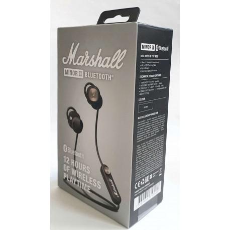 Безжични слушалки Marshall Minor II Bluetooth Brown - 6