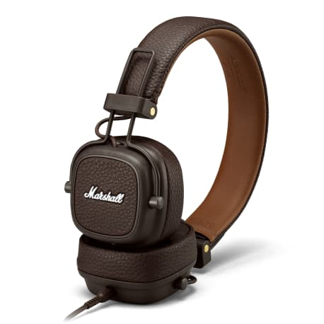 Слушалки Marshall Major III Brown - 4
