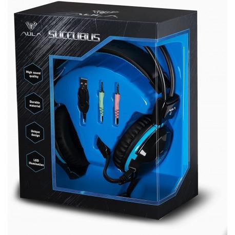 Геймърски слушалки AULA Succubus - 3