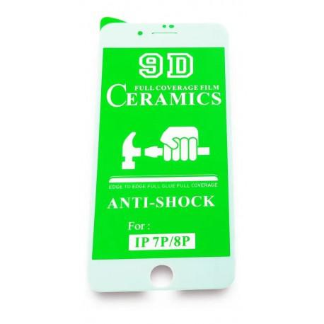Керамичен протектор за Apple iPhone 7/8 бял - 3