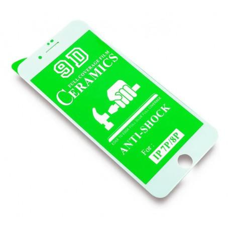 Керамичен протектор за Apple iPhone 7/8 бял - 4