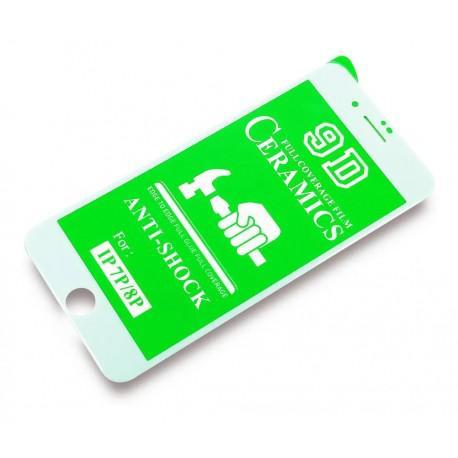 Керамичен протектор за Apple iPhone 6/6S бял - 2