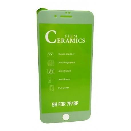 Керамичен протектор за Apple iPhone 7 PLUS/8 PLUS бял