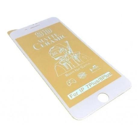 Керамичен протектор за Apple iPhone 7 PLUS/8 PLUS бял - 2