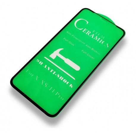 Керамичен протектор за Apple iPhone X/XS/11 Pro черен - 3