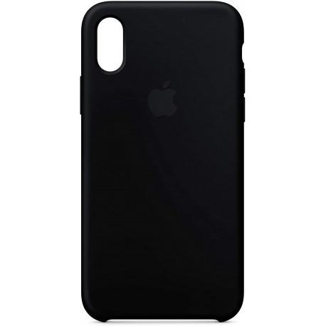 Силиконов гръб за IPhone X черен