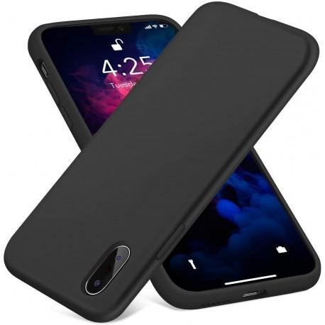 Силиконов гръб за IPhone X черен - 3