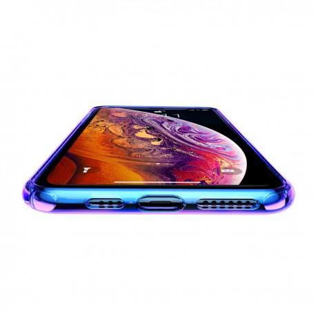 Силиконов гръб за IPhone X/XS Baseus Colorful - 3