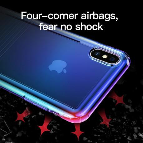 Silicone case for IPhone X/XS Baseus Colorful - 4