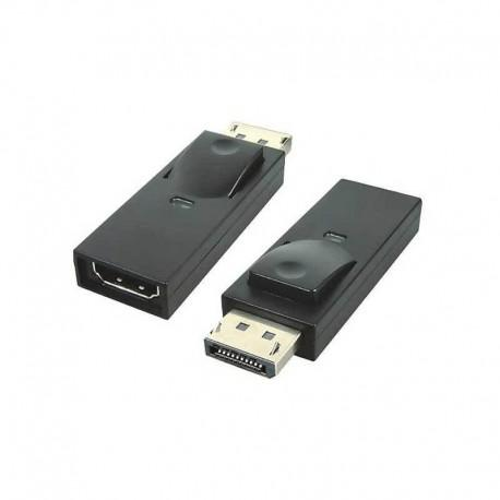 DisplayPort адаптер към HDMI женско Vivanco 45295, черен
