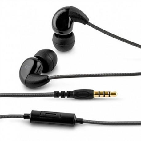 Black headphones ACME HE16B with a microphone - 2