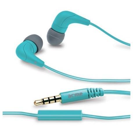 Сини слушалки ACME HE15B с микрофон - 2