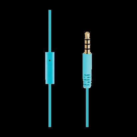 Сини слушалки ACME HE15B с микрофон - 3