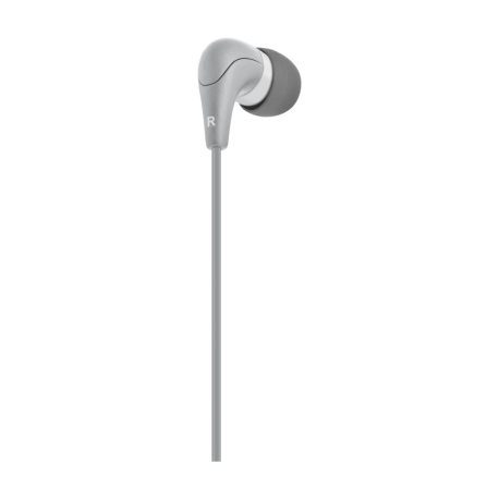 Сиви слушалки ACME HE15G с микрофон - 3
