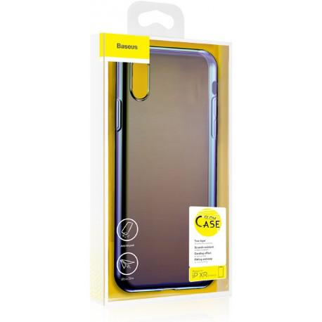 Silicone case for IPhone XR Baseus Glow Case Transparent WIAPIPH61-XG01 - 3