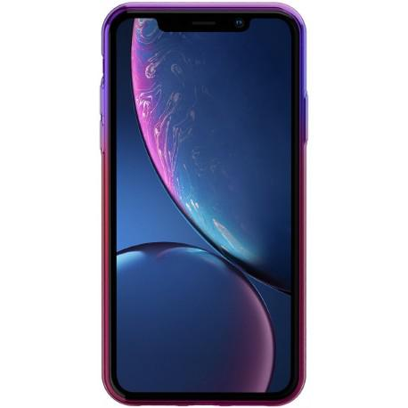 Silicone case for IPhone XR Baseus Glow Case Transparent WIAPIPH61-XG01 - 2